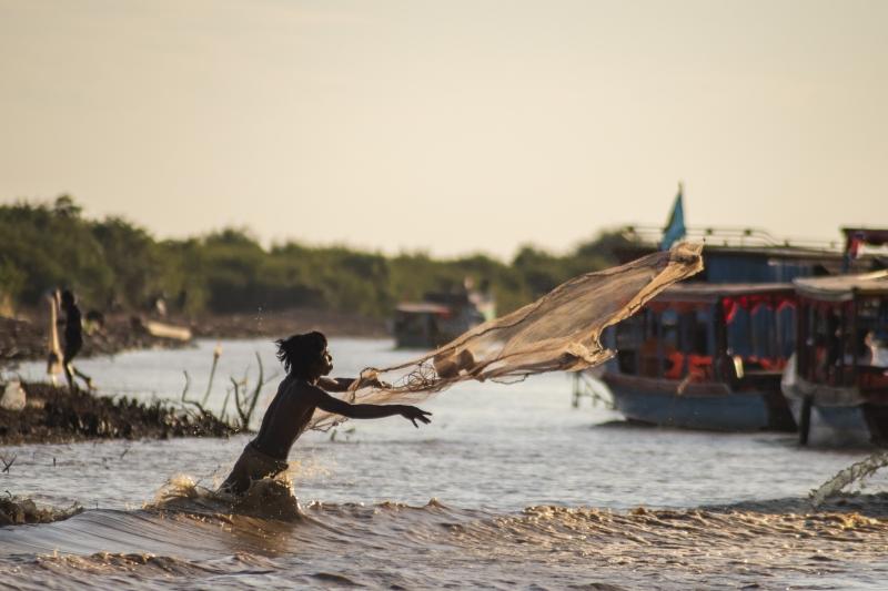 Fishing village - Cambodia