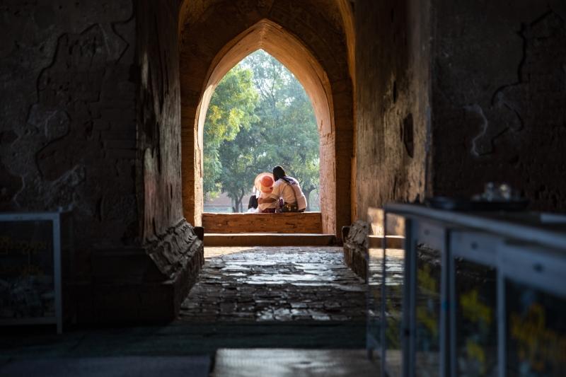 Old Wat  - Bagan, Myanmar