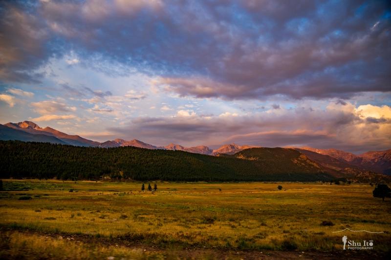 Sunrise - Rocky Mountain National Park