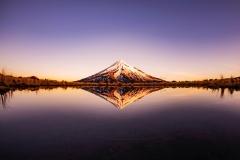 Mt.Taranaki_sunset