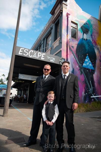 Wedding in Taranaki, New Zealand