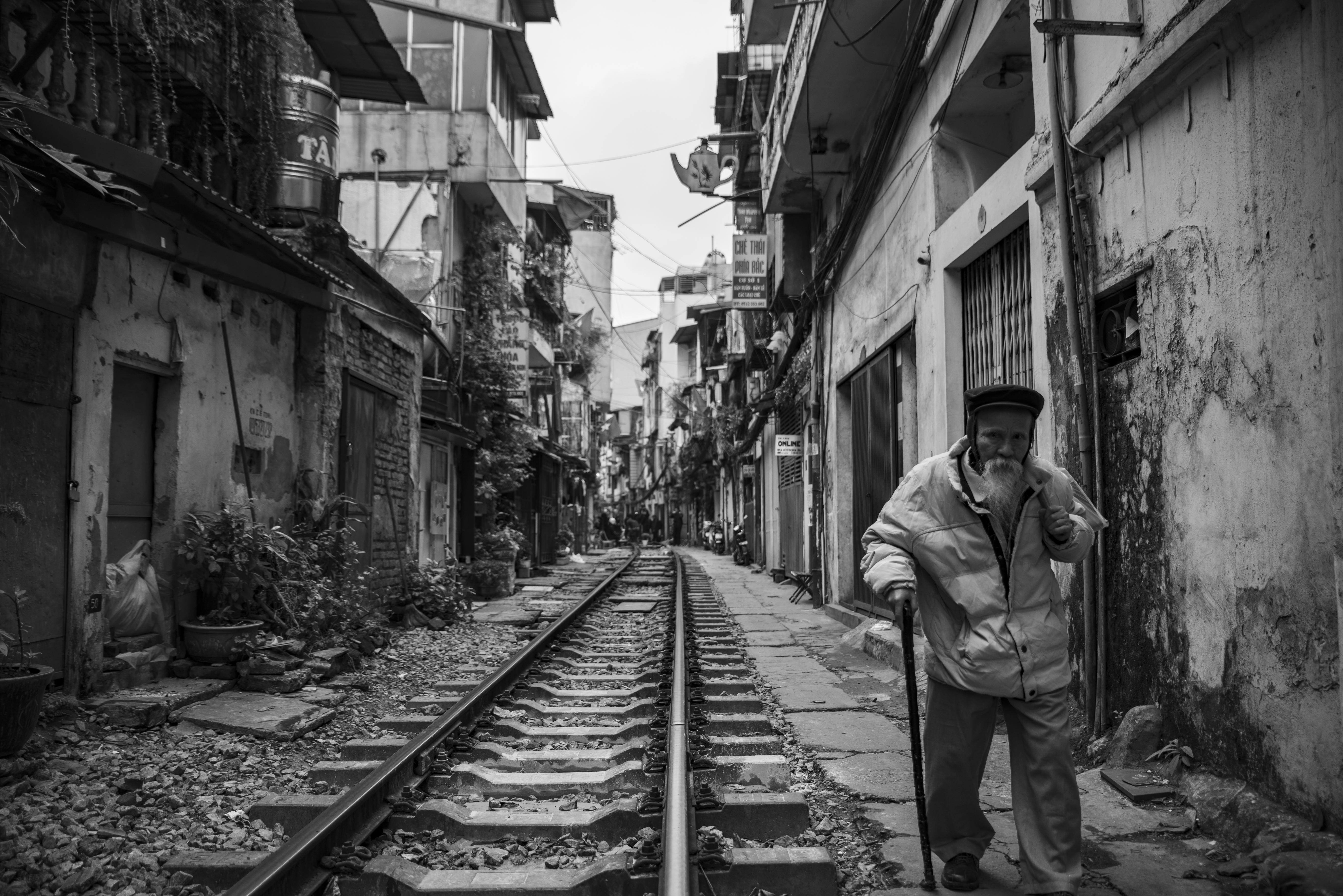 Old man - Hanoi, Vietnam
