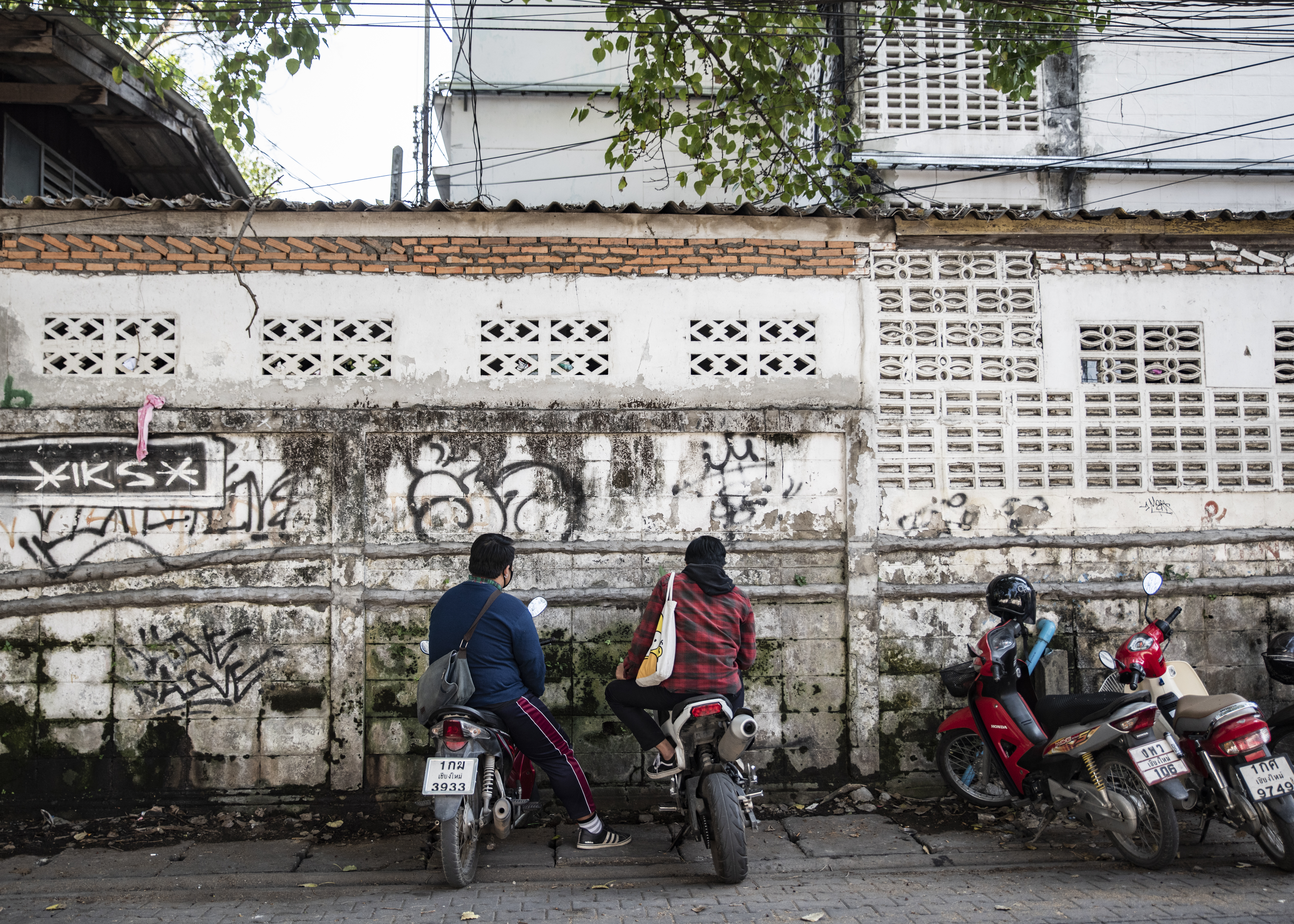 Bike riders -  Chiang Mai, Thailand